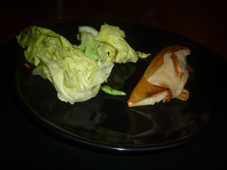 Croustillant crevettes chorizo