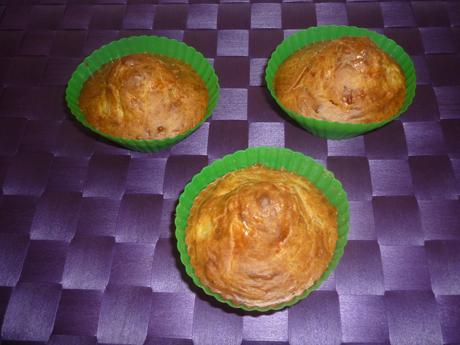 Muffin surimi cumin