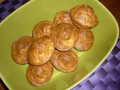 Muffins surimi cumin