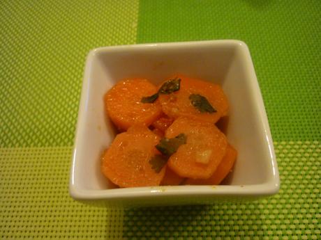 Salade de carottes piquantes