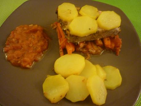 Steaks de thon au persil et aux épices