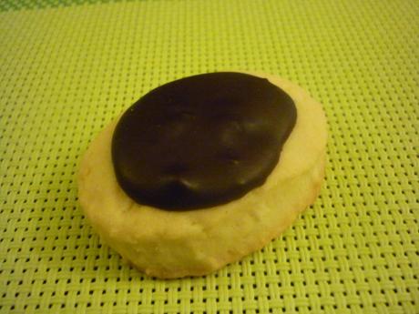 Petits biscuits chocolat noix de coco