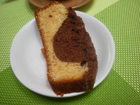 Gâteau chocolat vanille